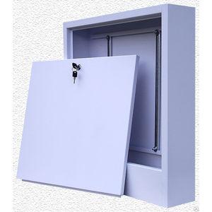 Коллекторный шкаф ROYAL Thermo наружный увеличенный для смесительных узлов 650х180х450 (ШРНУ180-1)