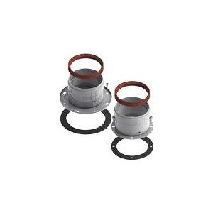 Адаптер ROYAL Thermo разделительный двухблочный d80 (El Bs F NF U)
