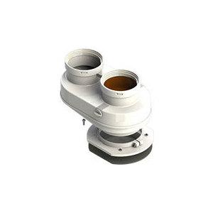 Адаптер ROYAL Thermo разделительный моноблочный d80 (B-B) (АБС-Пластик)