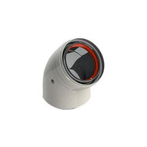 Колено ROYAL Thermo утепленное диаметр 80 MF 45