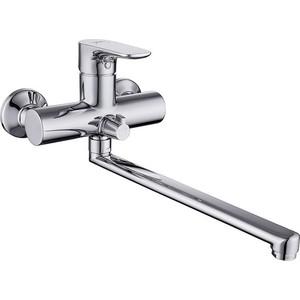 Смеситель для ванны/душа Damixa RedBlu Origin Top с универсальным изливом 350 мм (839000000) смесителя для ванны душа damixa redblu origin top 831000000