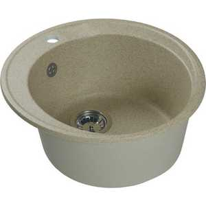 Мойка кухонная HARTE H-4549-302 d-490 мм песочный