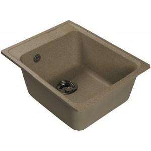 Мойка кухонная HARTE H-4041-302 410х510 мм песочный кухонная мойка ukinox fap 510 gt 8
