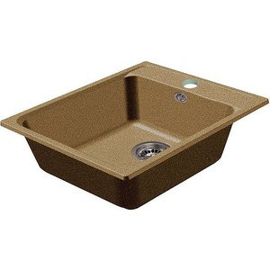 Мойка кухонная HARTE H-5051-302 510х510 мм песочный кухонная мойка ukinox fap 510 gt 8