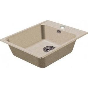 Мойка кухонная HARTE H-5051-310 510х510 мм серый кухонная мойка ukinox fap 510 gt 8