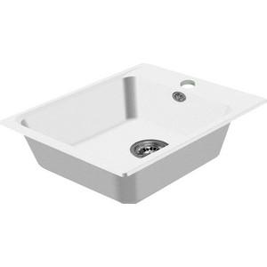 Мойка кухонная HARTE H-5051-331 510х510 мм белый кухонная мойка ukinox fap 510 gt 8