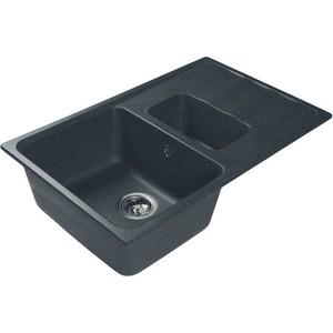 Мойка кухонная HARTE H-6059K-308 590х490 мм черный