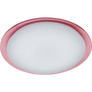 Потолочный светильник Estares Saturn 60W + розовый круглый кант