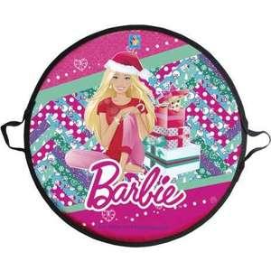 Ледянка Barbie 52 см, круглая (Т58482) ледянка мягкая круглая combosport d 45 см зубастик