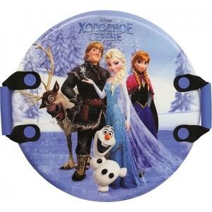 Ледянка Disney Холодное сердце, 54см, круглая с плотными ручками (Т57259) 1toy ледянка 1toy disney холодное сердце 54см