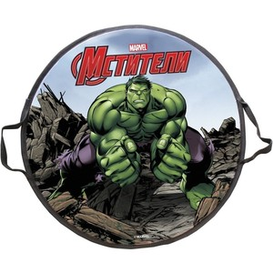 Ледянка MARVEL Hulk, 52 см, круглая (Т58170-1) матрас орматек comfort duos soft middle grey 120x190
