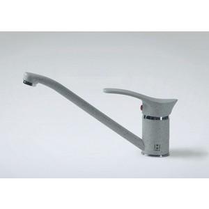 Смеситель для кухни HARTE однорычажный серый (Л 4204-310) смеситель для кухни однорычажный с выдвижной лейкой kludi l ine 428210577