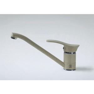 Смеситель для кухни HARTE однорычажный бежевый (Л 4204-328) смеситель для кухни однорычажный с выдвижной лейкой kludi l ine 428210577