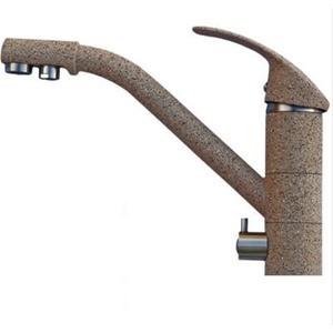 Смеситель для кухни HARTE однорычажный с фильтром д/в песочный (Л 7515-302) смеситель для кухни harte однорычажный белый л 4204 331