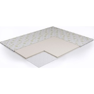 Наматрасник Beautyson Латекс (160х195х3 см) наматрасники candide наматрасник водонепроницаемый waterproof fitted sheet 60x120 см