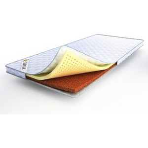 Наматрасник Lonax Latex-Cocos Б/П (140х195х6 см) наматрасник lonax latex 3 б п 140х200х3 см