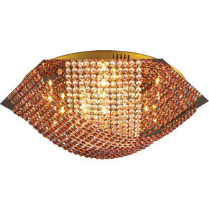 Люстра N-light 06 2670 0333 16 люстра накладная 06 2484 0333 24 gold amber and white crystal n light