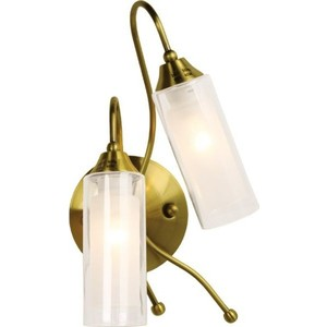 Бра N-light B-423/2 (P-383) antique brass gf go7300 b n a3 gf go7400 b n a3