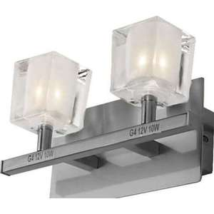 Бра N-light B-925/2 satin chrome