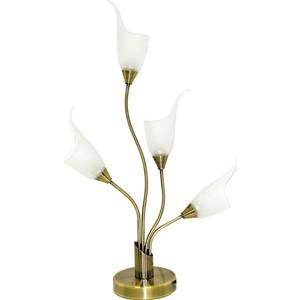 цена на Настольная лампа N-light TX-0143/4 antique brass