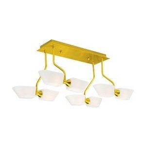 Люстра N-light P-734/8B satin gold