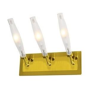 Бра N-light B-896/3 satin gold+gold
