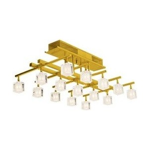 Люстра N-light P-804/15 satin gold