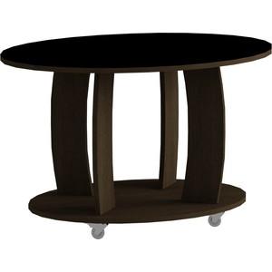 Журнальный стол MetalDesign Смарт MD 738.02.01 корпус-венге/ стекло-черный корпус gmc b6 shiny черный