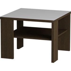 Журнальный стол MetalDesign Смарт MD 734.02.11 корпус-венге/ стекло-белый