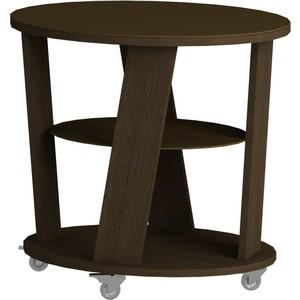 Журнальный стол MetalDesign Смарт MD 736.02.02 корпус-венге/ стекло-венге