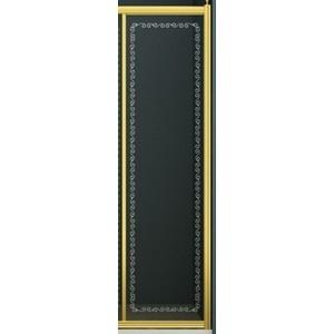 Фотография товара боковая панель Cezares для шторки V-11 (RETRO-30/145-FIX-CP-Br) (470459)