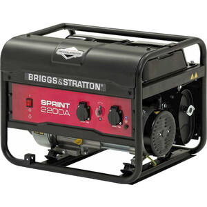 Генератор бензиновый Briggs and Stratton Sprint 2200A генератор бензиновый briggs and stratton 2400a