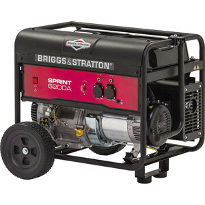 Генератор бензиновый Briggs and Stratton Sprint 6200A