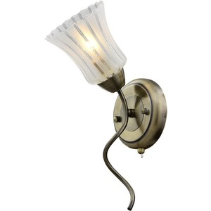 Бра IDLamp 245/1A-Oldbronze бра idlamp 877 1a darkchrome