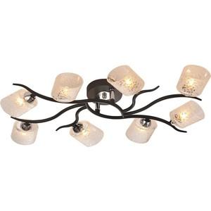 Люстра IDLamp 207/8PF-Black idlamp светильник потолочный 818 8pf whitechrome