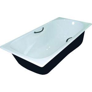 Чугунная ванна Универсал Сибирячка 170х75 с отверстиями для ручек (25707546-1)