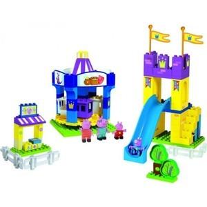 Конструктор BIG Парк развлечений Peppa Pig, 126 деталей 4/4(57080) конструктор big игровая площадка peppa pig 57076
