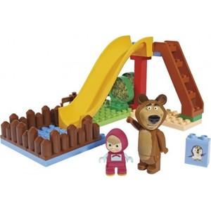 Конструктор BIG Конструктор Маша и Медведь, Бассейн, 29 деталей12/12 (8000571) big маша и медведь пчелиная ферма
