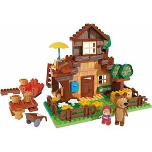 Конструктор BIG Маша и Медведь, Дом Мишки, 163 деталей 3/3 (800057098)