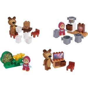 Конструктор BIG Маша и Медведь, стартовый набор, 4в, 7-11 деталей 12/48 (800057090)
