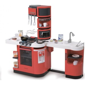 Кухня Smoby Cook Master Red, 110*34*99 см (311100)