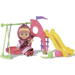 Игровой набор Simba Маша с детской игровой площадкой с аксессуарами 6/24 (9301816)