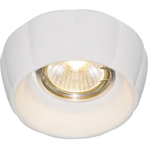 Точечный светильник Artelamp A5242PL-1WH white color block scoop neck padded design bikini