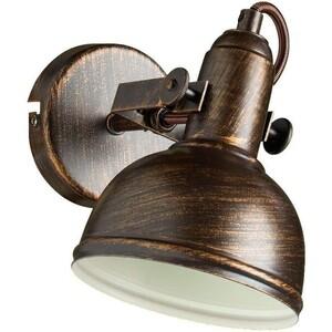Спот Artelamp A5213AP-1BR светильник настольный artelamp woods a1010lt 1br
