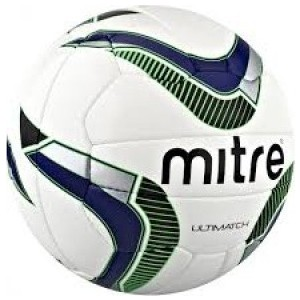 Мяч футбольный Mitre Ultimatch арт. BB8015WNB
