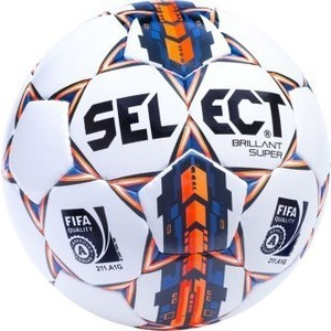 Мяч футбольный Select Brillant Super FIFA арт. 810108-006 р.5