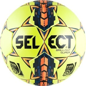 Мяч футбольный Select Brillant Super FIFA YELLOW арт. 810108-056 р.5