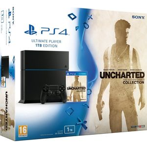 Игровая приставка Sony PlayStation 4 1Tb + игра Uncharted Collection