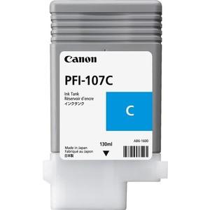 Картридж Canon PFI-107C (6706B001) картридж canon pfi 706pgy 6691b001