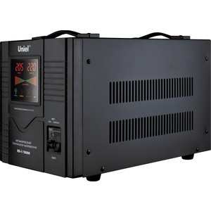 Стабилизатор напряжения Uniel RS-1/10000 стабилизатор напряжения uniel 09499 2000ва rs 1 2000ls